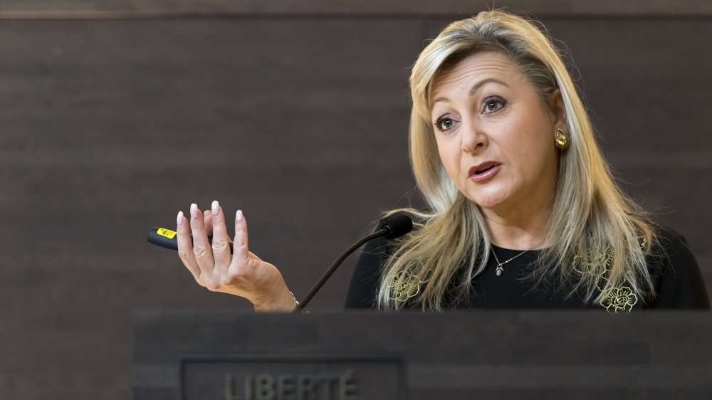 Le 18mars, Nuria Gorrite a eu ces mots très forts, au micro de la RTS: «Ou on envoie mourir des gens, ou on les envoie au chômage.»