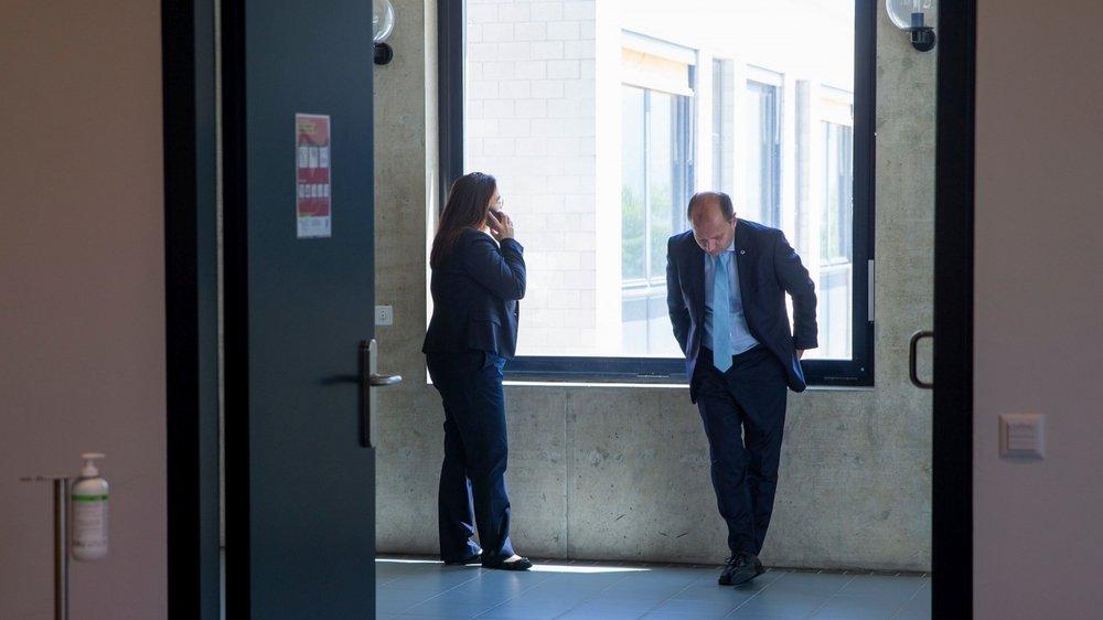 Cesla Amarelle et Philippe Leuba s'inquiètent des conséquences de la crise sur le système de formation professionnelle.