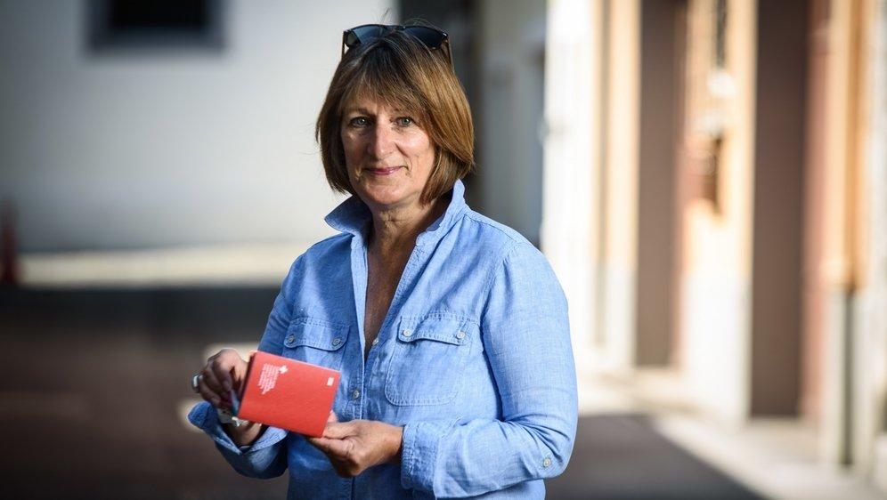 Pour Catherine Nelson-Pollard, son passeport suisse a une valeur sentimentale.