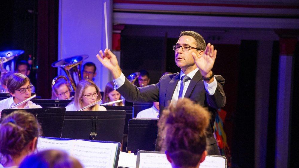 Florian Spirito dirige l'Ecole de musique de Rolle et Environs (EMRE).