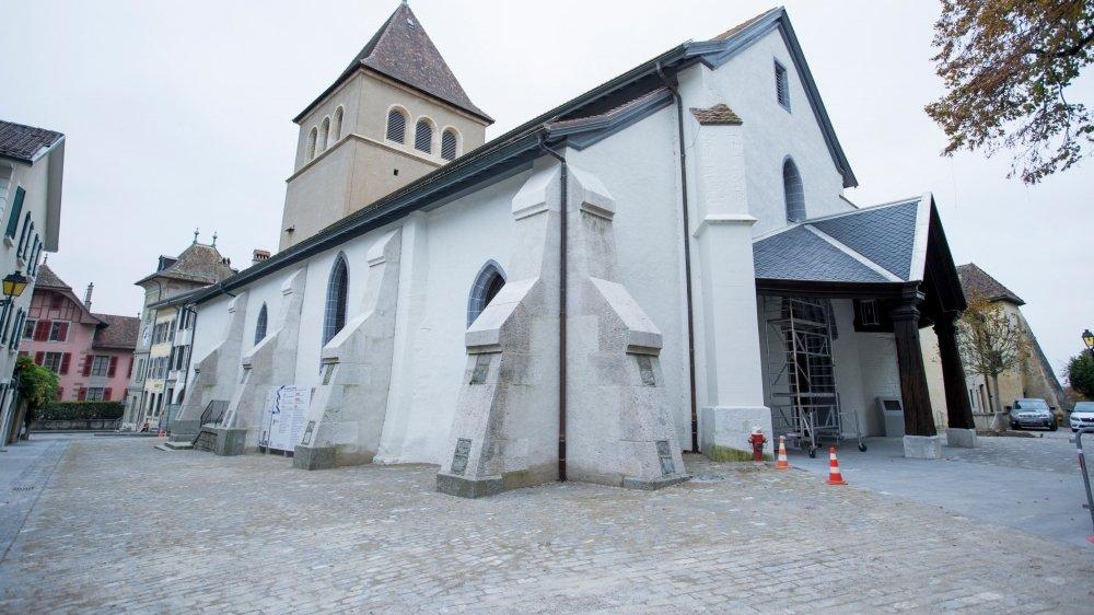 Le temple de Nyon fera partie des églises qui rouvriront leurs portes aux fidèles ce dimanche.