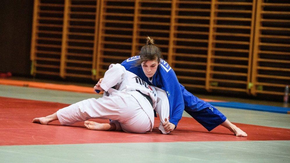 Après plusieurs cours dispensés aux plus jeunes par Zoom, Tamara Silva, du judo club Morges, a retrouvé les joies des combats rapprochés.