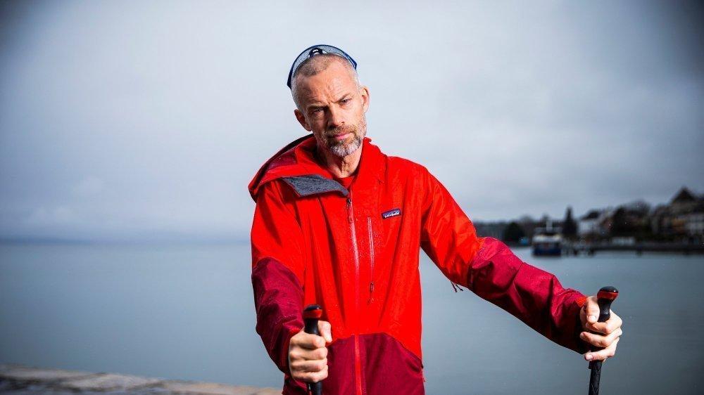 Yves Auberson n'ira pas voir la mer, mais parcourra quand même un millier de kilomètres à travers les Alpes suisses dès le 4 juillet prochain.