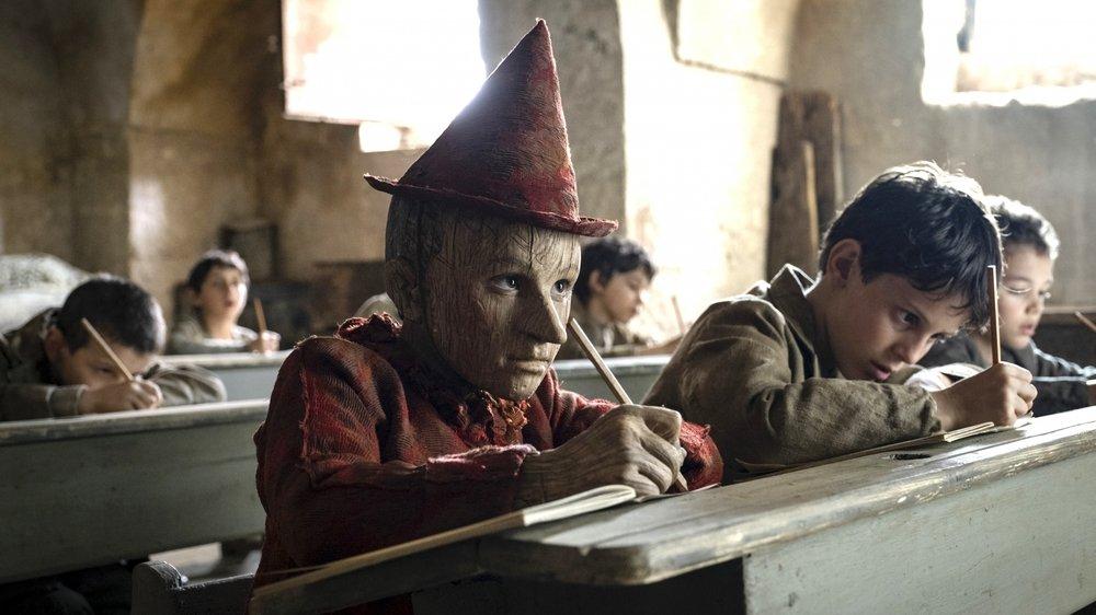 Federico lelapi incarne Pinocchio.