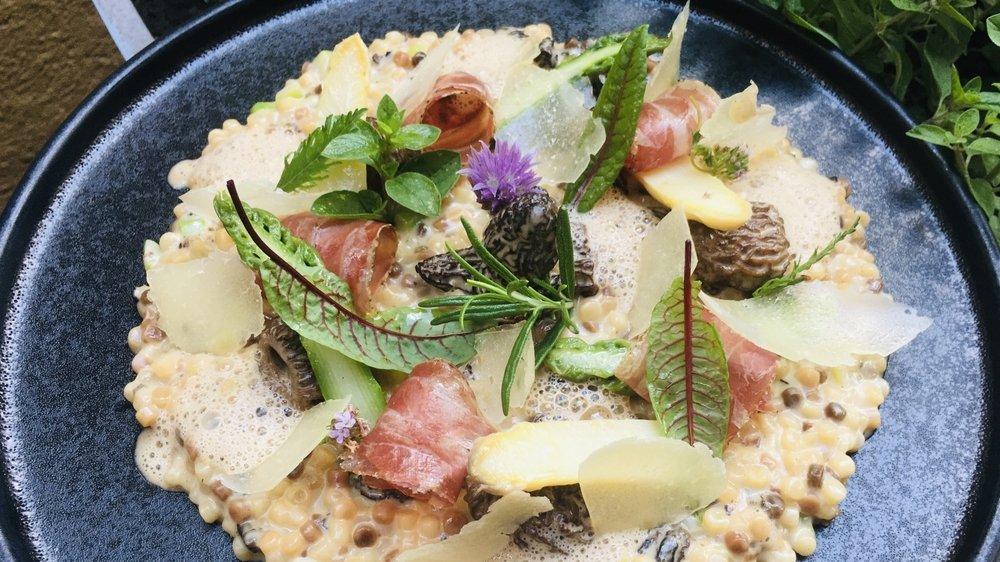 Un parfum de Sardaigne dans votre assiette avec la fregula, une pâte à la forme sphérique originaire de l'île italienne.