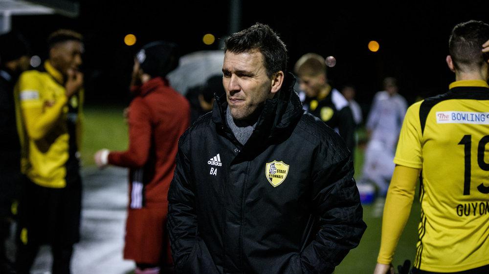 Anthony Braizat, le coach du Stade Nyonnais, prépare activement la prochaine saison.