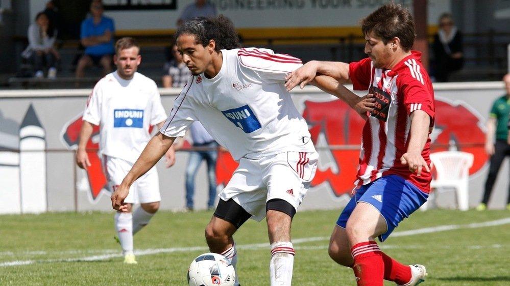 """Oussama Talal (en blanc) est le dernier arrivé dans la """"Dream Team"""" d'Aubonne."""