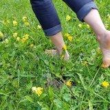 Balade pieds nus