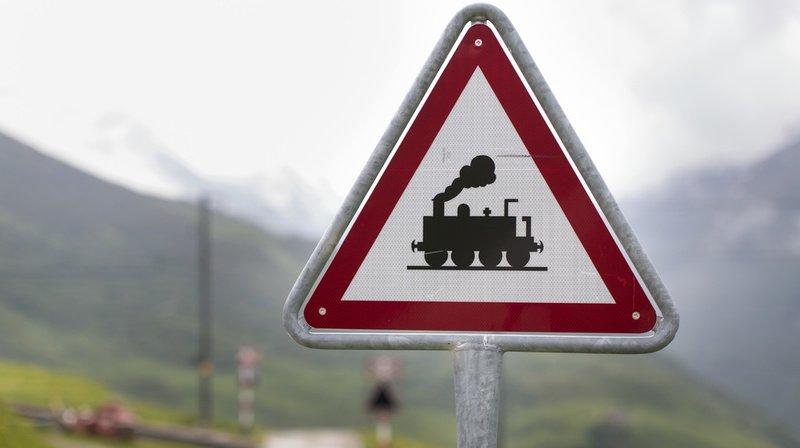 Valais: onze blessés dans la collision entre deux trains dans la région d'Oberwald