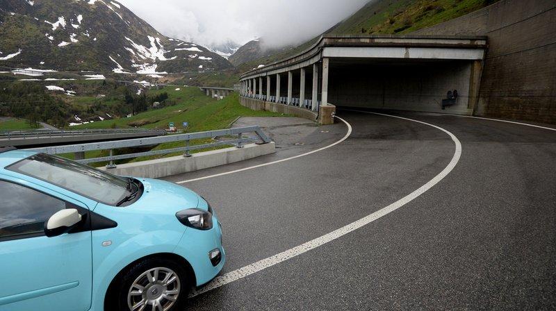 Accident: une collision fait six blessés au col du Gothard