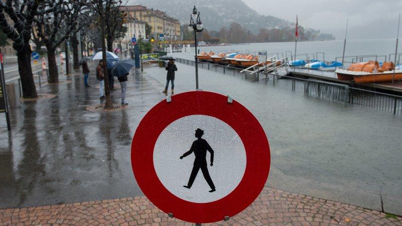 Météo: alerte aux inondations au Tessin