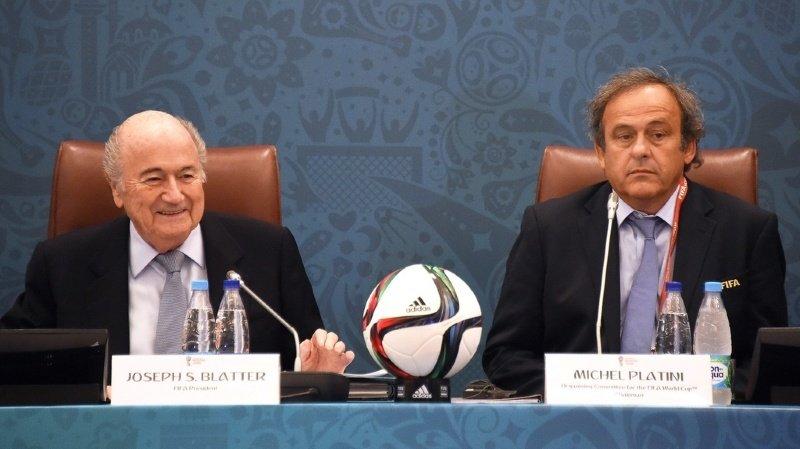Football: enquête sur Platini pour le paiement de 2 millions reçu de Blatter