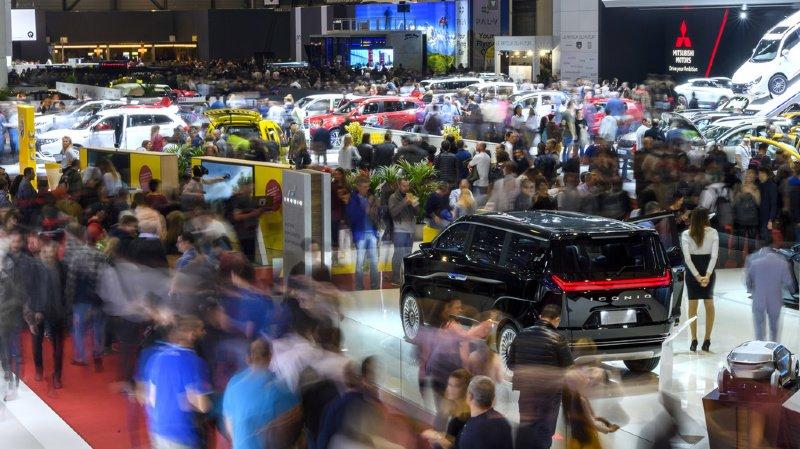 Salon de l'auto: prix de vente proposé de 15 millions de francs