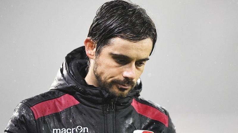 Ricardo Dionisio n'a empoché que deux points lors de ses cinq sorties avec les Sédunois.