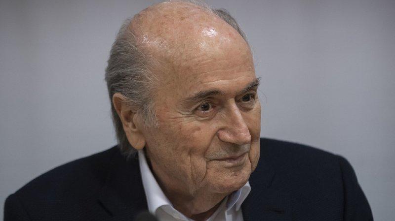 Affaire FIFA: une enquête visant Blatter classée par le MPC