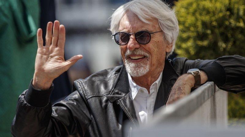 Automobilisme: l'ancien patron de la formule 1 Bernie Ecclestone papa à 89 ans