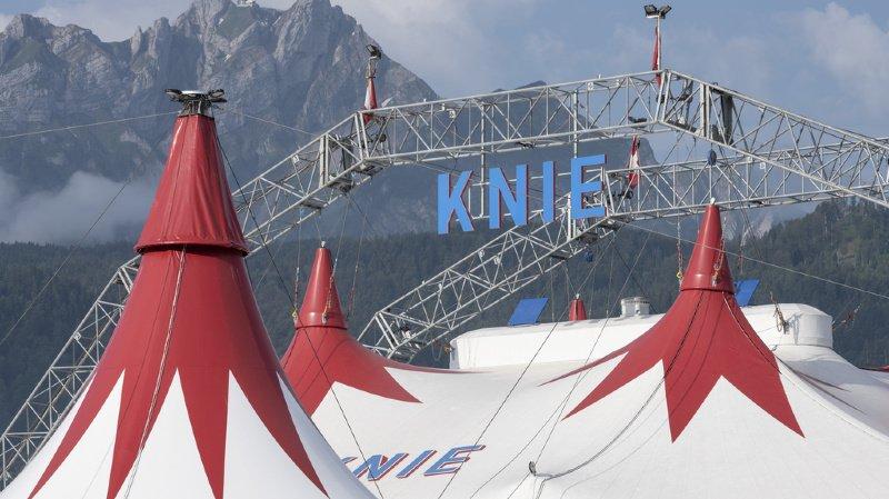 Le cirqueKniene viendra pas en Suisse romande cette année