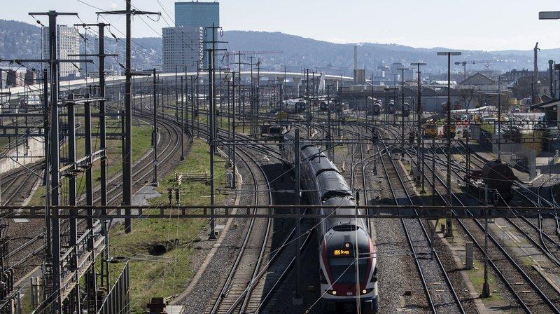 Le train est le moyen de transport le plus sûr en Suisse. (Illustration)