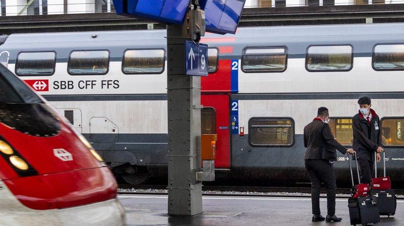 Les trains ne sont pas encore très bondés pour le moment. (Illustration)
