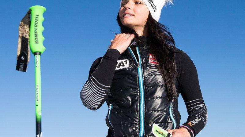 L'Autrichienne Anna Veith (ici en 2016), aussi populaire que Marcel Hirscher, a annoncé la fin de sa carrière de skieuse.