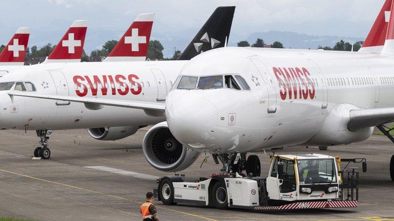 Swiss: les clients se feront rembourser leurs billets d'avion annulés