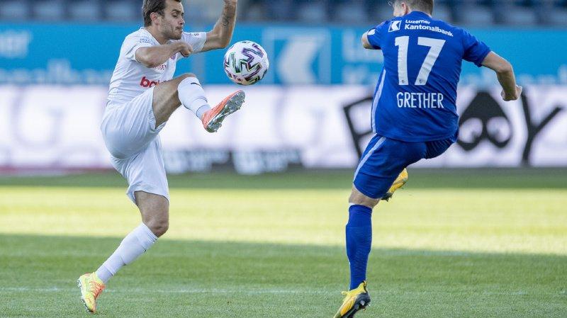 Football: Servette concède un match nul à Lucerne