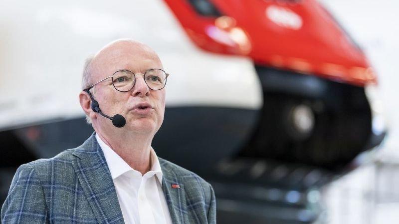 Transports publics: le nouveau CEO des CFF veut davantage de stabilité pour les clients