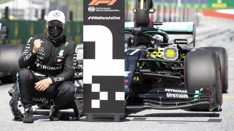 Formule 1 – GP d'Autriche: Bottas sur Mercedes en pole position du 1er GP de la saison
