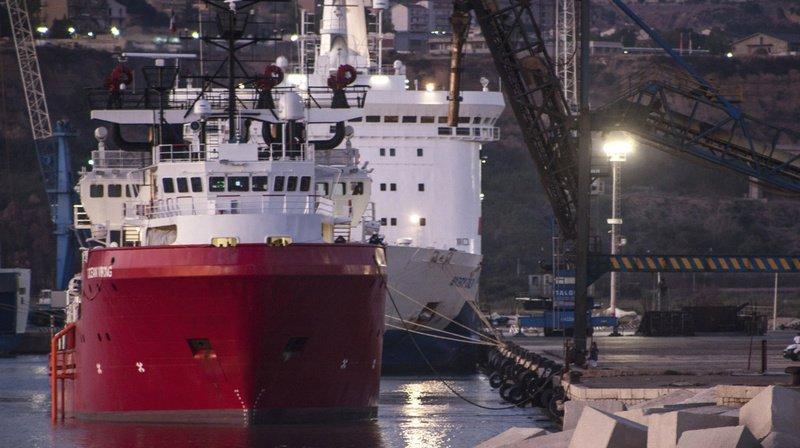 Italie: les 180 migrants à bord de l'OceanViking débarqués en Sicile