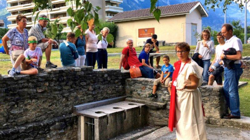 Visite guidée : Martigny La Romaine