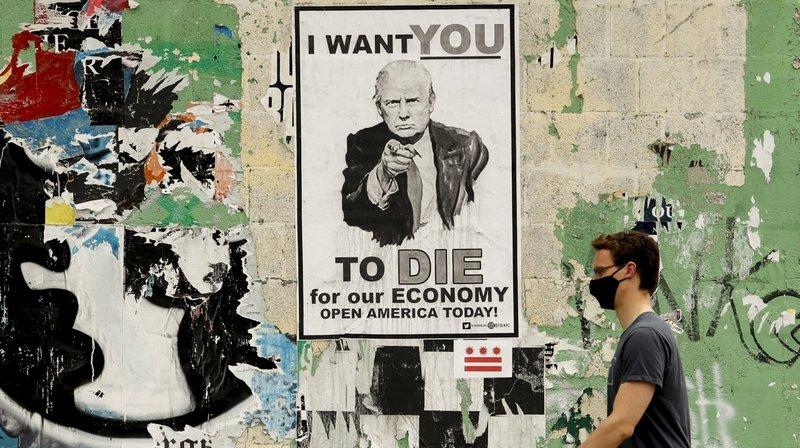Présidentielle américaine: Donald Trump fragilisé par la pandémie