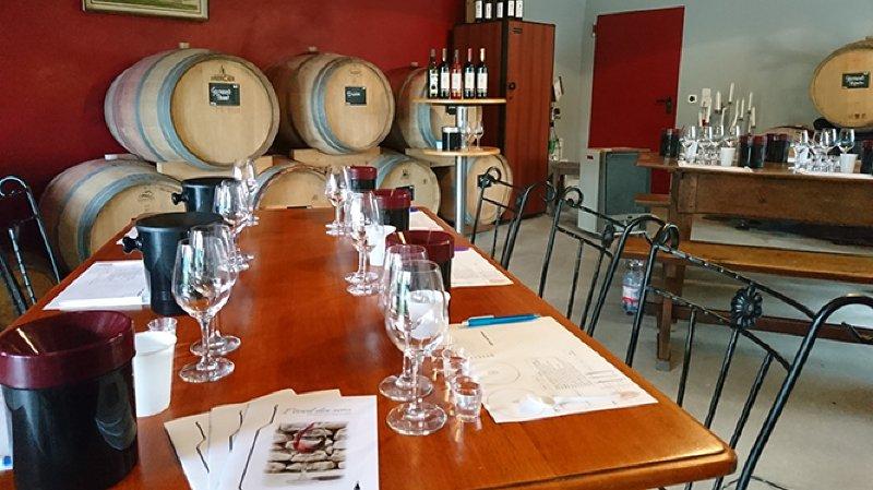 Initiation à la dégustation de vins à Féchy