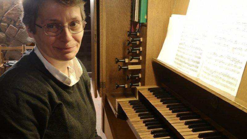 Giulia Biagetti à l'orgue