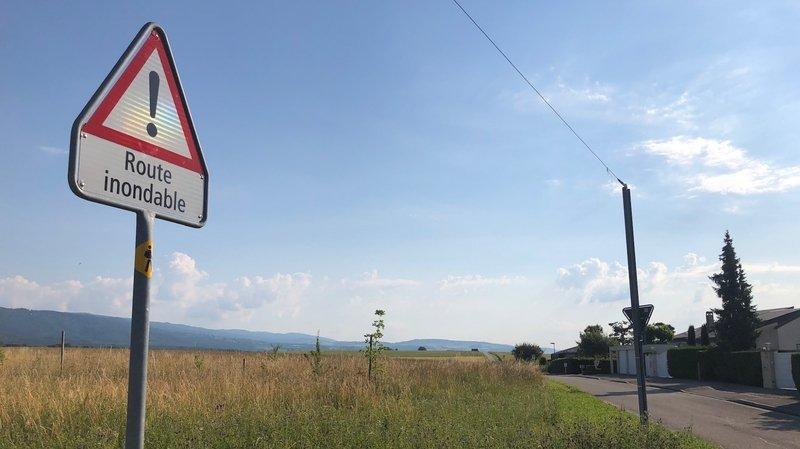 Borex érigera une digue pour créer une zone inondable au-dessus du village