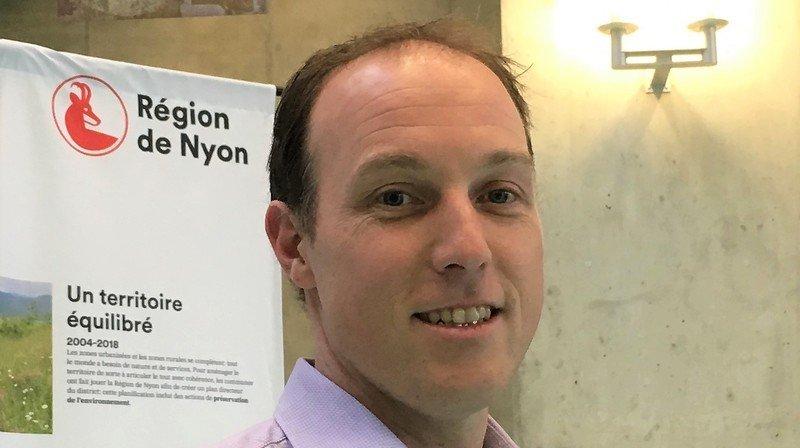 Boris Mury a été nommé secrétaire général de Région de Nyon.