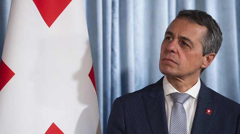 Pour le ministre des affaires étrangères Ignazio Cassis, siéger en tant que membre non permanent au Conseil de sécurité de l'ONU n'est pas incompatible avec la neutralité suisse.