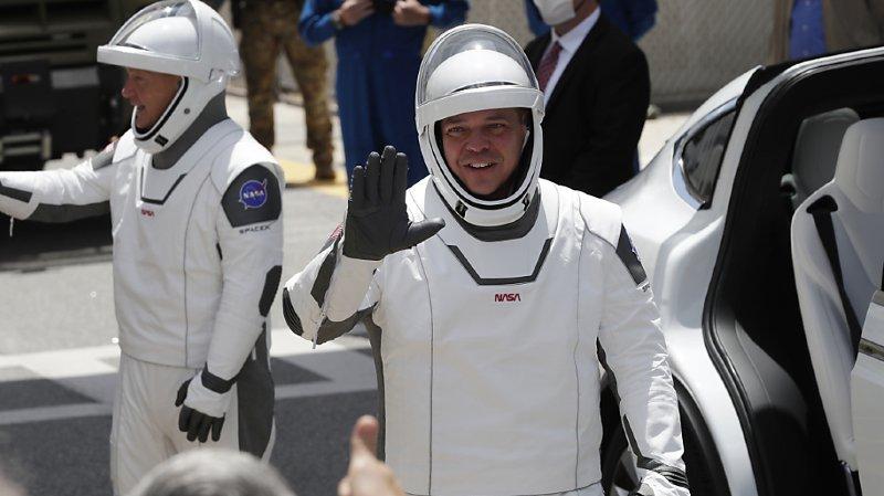 Espace: les astronautes sont prêts à partir avec leur fusée SpaceX