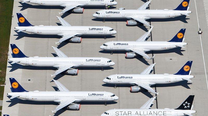 Aviation: l'Etat allemand sauve Lufthansa