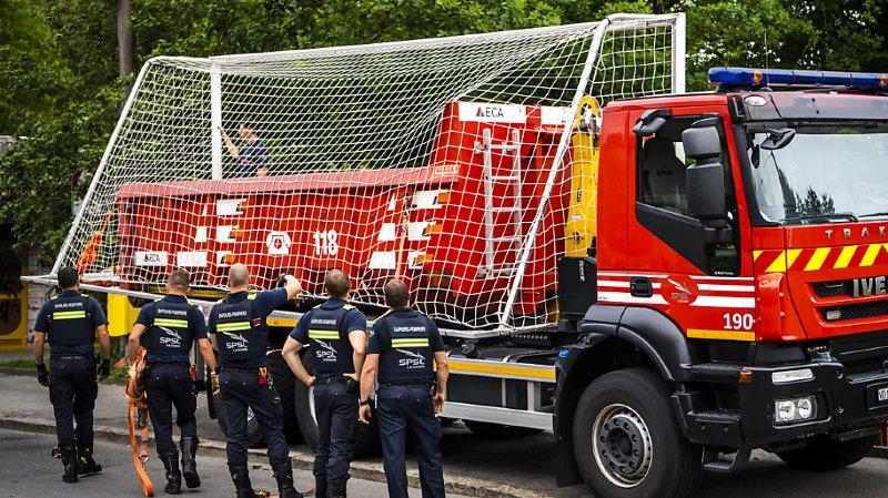 Lausanne: la police empêche un nouveau match de foot sauvage