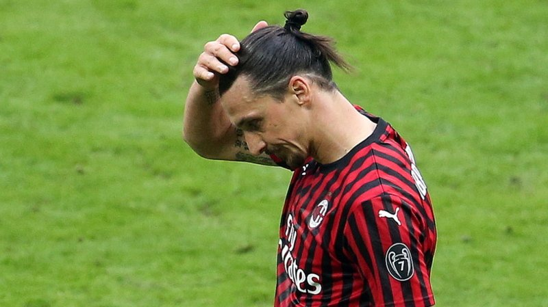 Milan AC: blessé, Zlatan Ibrahimovic sera absent environ un mois
