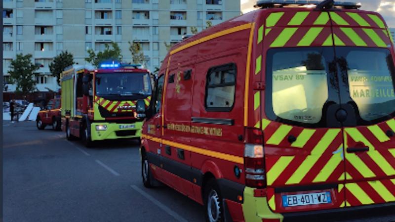 France: deux morts et un blessé grave dans un incendie à Marseille