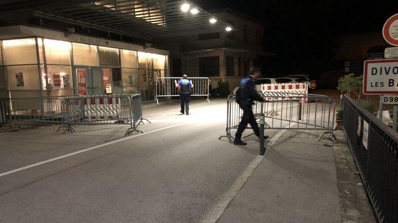 Crassier: la frontière ouverte avec 2minutes d'avance