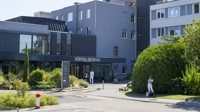 L'hôpital de Nyon.