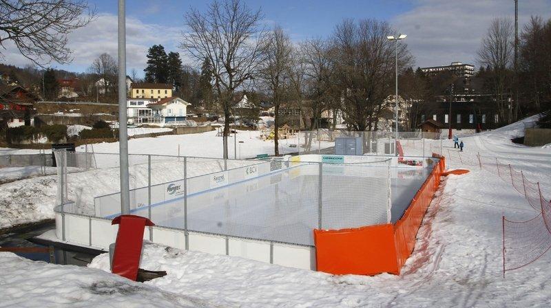 Une patinoire jusqu'en 2025 pour Saint-Cergue