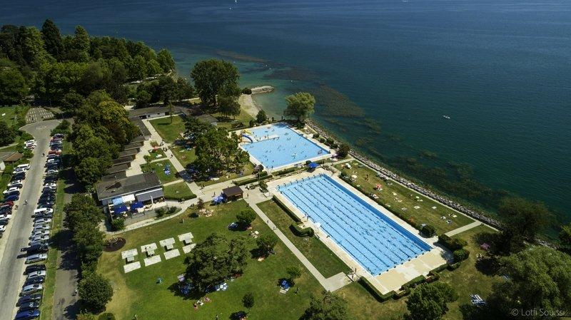 La piscine de Morges a revu sa configuration pour s'adapter à la crise sanitaire.