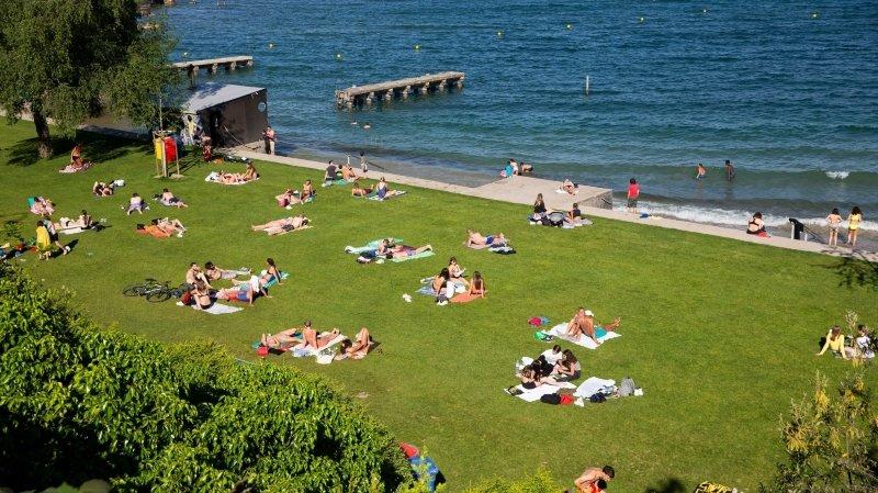 Nyon: bagarre et fête sauvage pour une centaine de jeunes à la plage