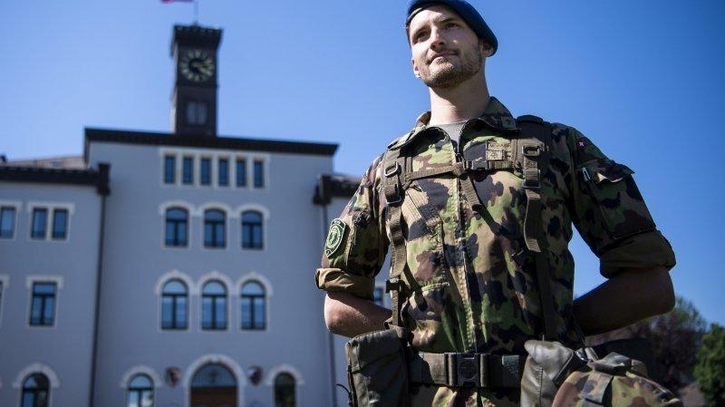 Bière: la fin a sonné pour les derniers soldats d'hôpital