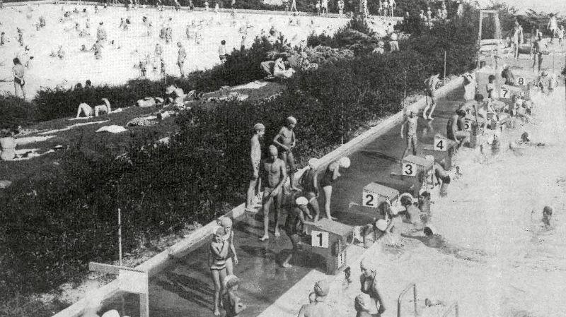 Il y a un demi-siècle, Nyon se jetait à l'eau pour garder ses nageurs