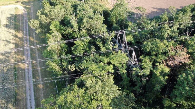 Gland: un pylône électrique a été saboté, usage probable d'explosifs