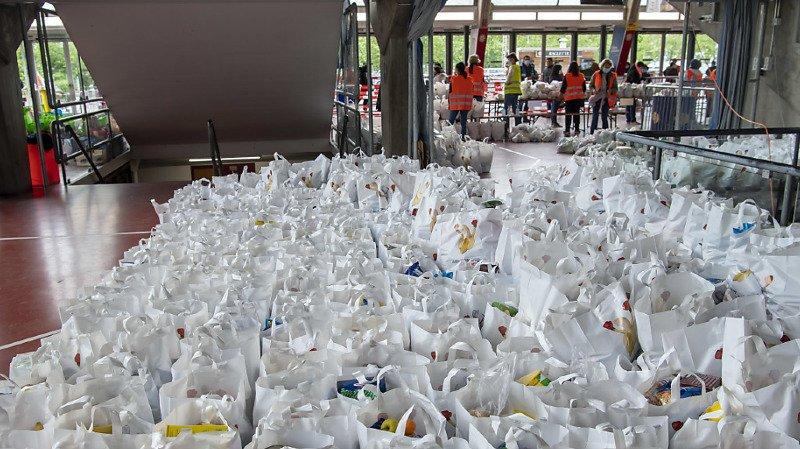 Aide alimentaire: Morges lance un appel aux dons